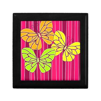 """Vibrant butterflies 5"""" Gift Box"""