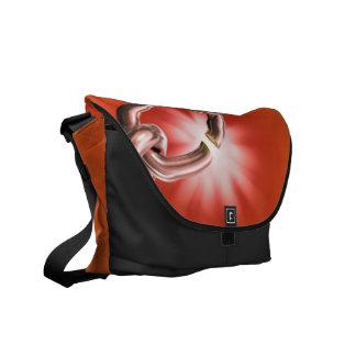 Vibrant Chainlink Messenger Bag