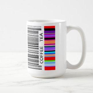 Vibrant Color Bar Code Classic White Coffee Mug