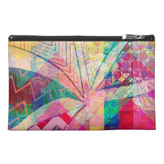 Vibrant Colorful Funky Abstract Girly Butterfly Ch Travel Accessories Bags