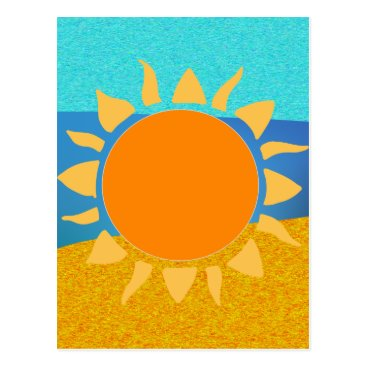 Vibrant Colors Florida... Where the Sun Lives Postcard