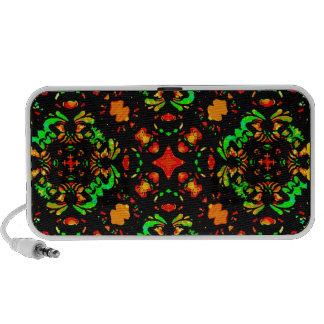 Vibrant Colors Refined Ornament Mini Speakers