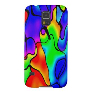 Vibrant colour galaxy s5 cover