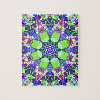 Vibrant Concentric Abstract Jigsaw Puzzle