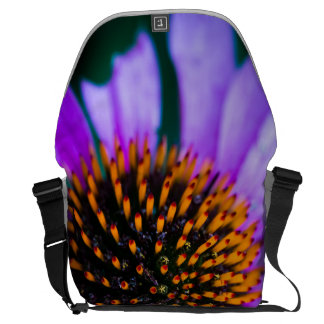 Vibrant Coneflower Courier Bag