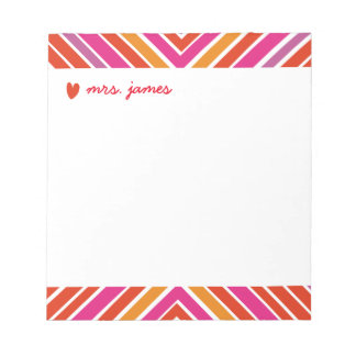 Vibrant Criscross Notepad