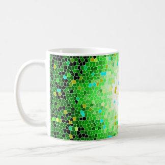 Vibrant Crystal Mosaic Pattern Tea Coffee Mug