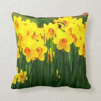 Vibrant Daffodil Pillow