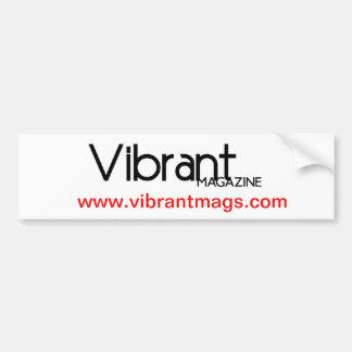 VIBRANT decal