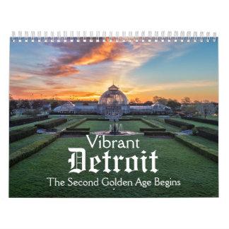 Vibrant Detroit Calendar
