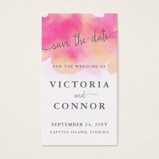 Vibrant Dreams Custom Save the Date Cards