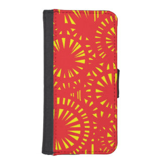 Vibrant Easygoing Convivial Supporting iPhone SE/5/5s Wallet Case