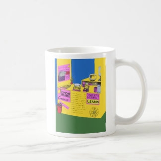 Vibrant, Elaborate Illustration Of Lemonade Stand Coffee Mug