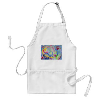 Vibrant Expression 3 Adult Apron