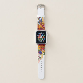 Vibrant Fall Boho Bouquet Apple Watch Band