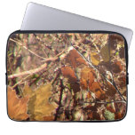 Vibrant Fall Forest Nature Camouflage Decor Computer Sleeves