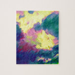Vibrant Festive Multi-Color Abstract Pattern Jigsaw Puzzle