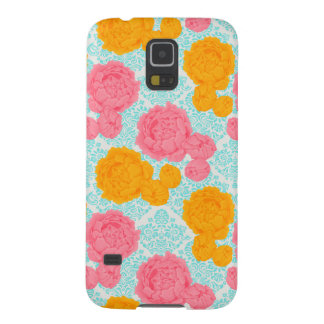 Vibrant Floral and Lace Samsung Galaxy S5 Case