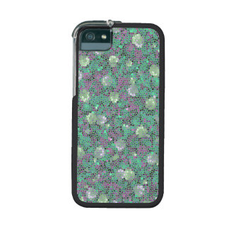 Vibrant Floral Mosaic Trendy Colorful Pattern Art iPhone 5/5S Cover