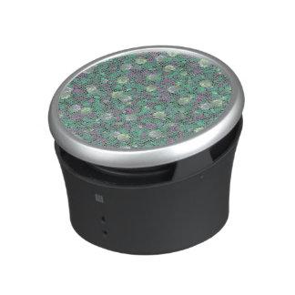 Vibrant Floral Mosaic Trendy Colorful Pattern Art Bluetooth Speaker