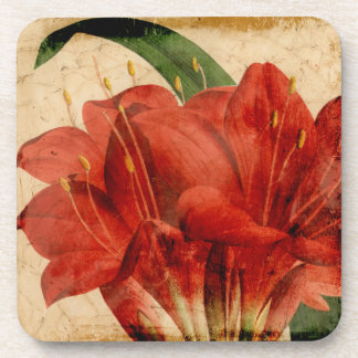 Vibrant Floral VIII Drink Coaster
