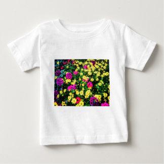 Vibrant Flower Bed Baby T-Shirt