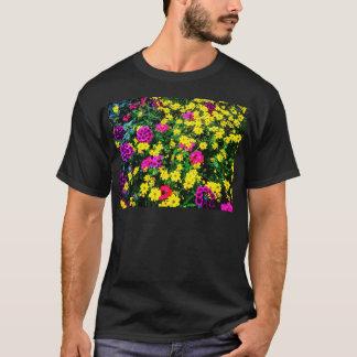 Vibrant Flower Bed T-Shirt