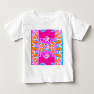 Vibrant Flower Bursts 3 Baby T-Shirt