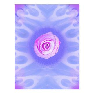 Vibrant Flower Bursts 4 Postcard