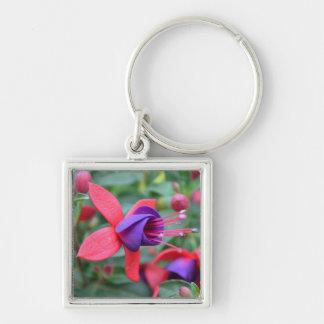 Vibrant Flower key chain
