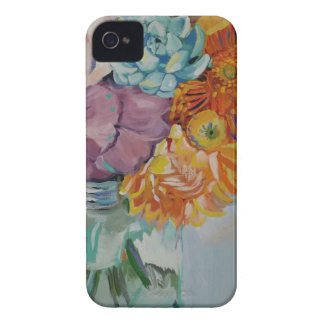 Vibrant flowers iPhone 4 covers