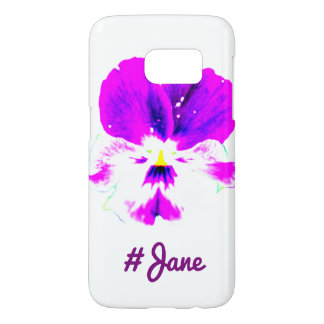 Vibrant #Flowers Samsung Galaxy S7 Case