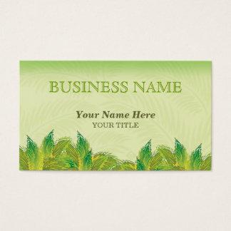 vibrant foliage ~ bc business card