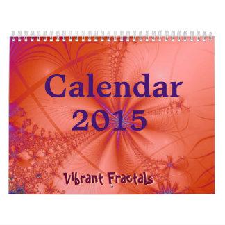Vibrant Fractals 2015 Calendar 2