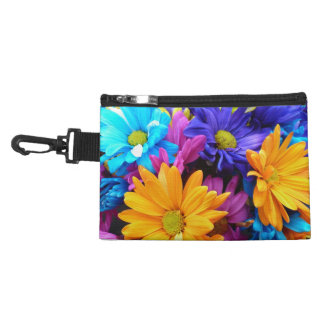 Vibrant Gerbera Daisy Bouquet Accessory Bag
