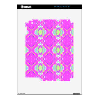 Vibrant Girly Hot Neon Pastel Pink iPad 2 Skin