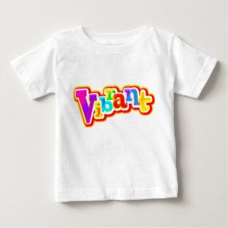Vibrant graphic toddler t-shirt