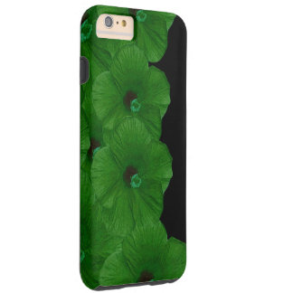 Vibrant Green Flowers Tough iPhone 6 Plus Case