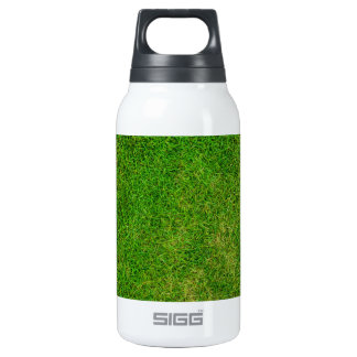 Vibrant Green Grass Thermos Bottle