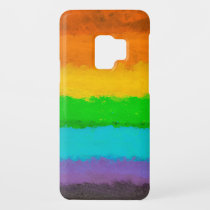 Vibrant Hand Painted Rainbow Design Case-Mate Samsung Galaxy S9 Case