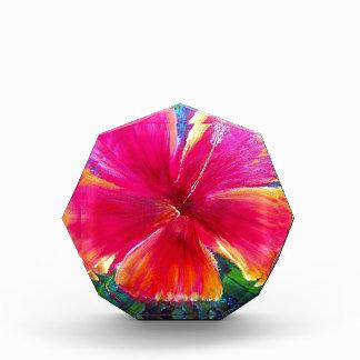 Vibrant Hibiscus Flower Award