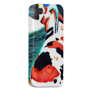 Vibrant Koi FIsh Watercolor Case Cases For iPhone 4