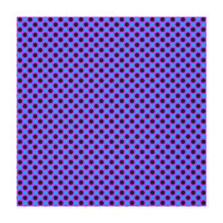 Vibrant Large Polka Dots. Canvas Print
