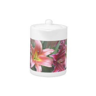 Vibrant Lily Duo Teapot