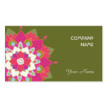 Vibrant Lotus Natural Health and Wellness Business Card Template