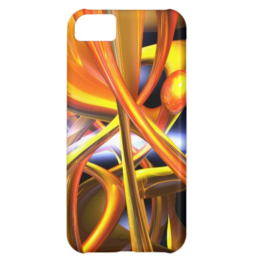 Vibrant Love Abstract iPhone 5C Cases