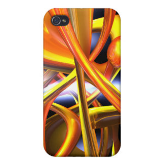 Vibrant Love Abstract iPhone 4/4S Covers