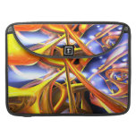 Vibrant Love Abstract Sleeves For MacBook Pro