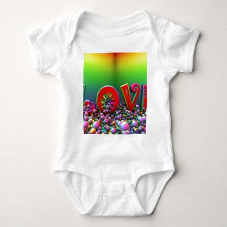 vibrant love baby bodysuit