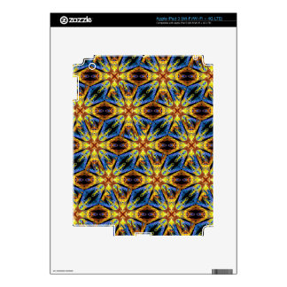 Vibrant Medieval Check iPad 3 Decal